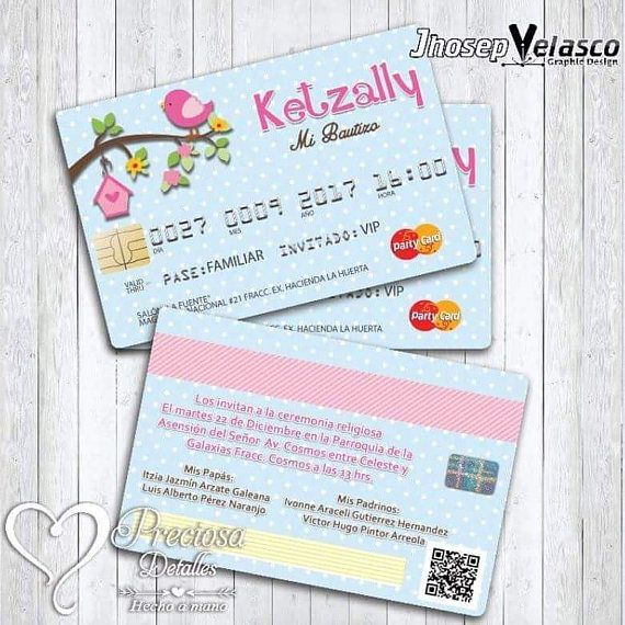 He encontrado este interesante anuncio de Etsy en https://www.etsy.com/es/listing/539502805/invitcion-tarjeta-de-credito-para