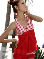 Swimming Suit: Cheap, cute, unique and modest! You can't beat that! Oh yeah...and Free shipping :)