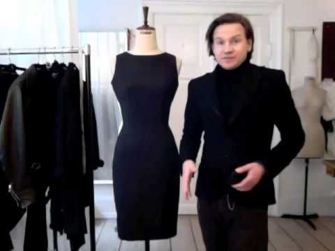 The Scandinavian Tailoring Fashion Course - info by bespoke tailor Sten Martin - YouTube