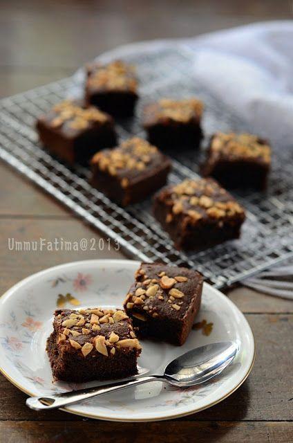 Brownies tanpa bahan tambahan makanan, bebas gluten