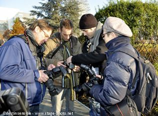 Cours de photo débutant sur une journée - stage photo Lille - mobilabo