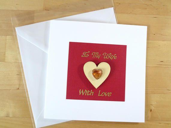 To my wife wife card card for wife Wife wife birthday