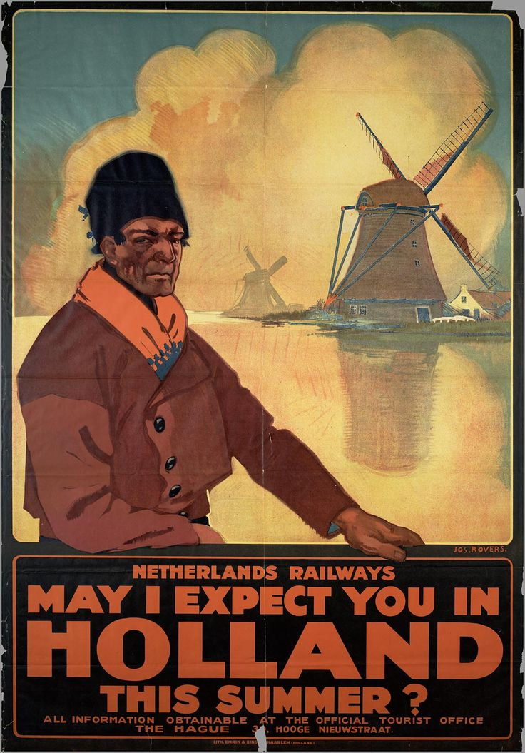 Netherlands railways ♥: may I expect you in Holland this summer 1926