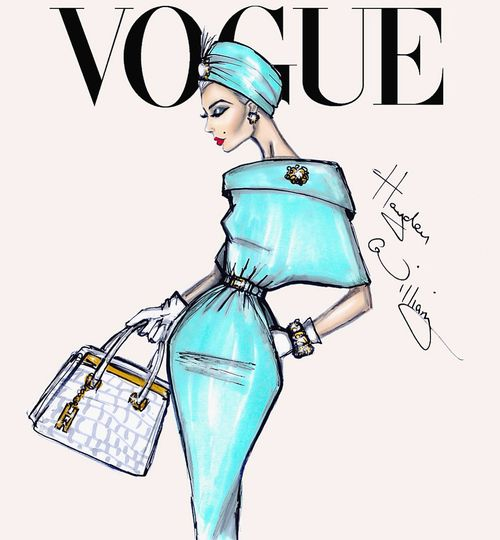 'Vintage Glam' by Hayden Williams