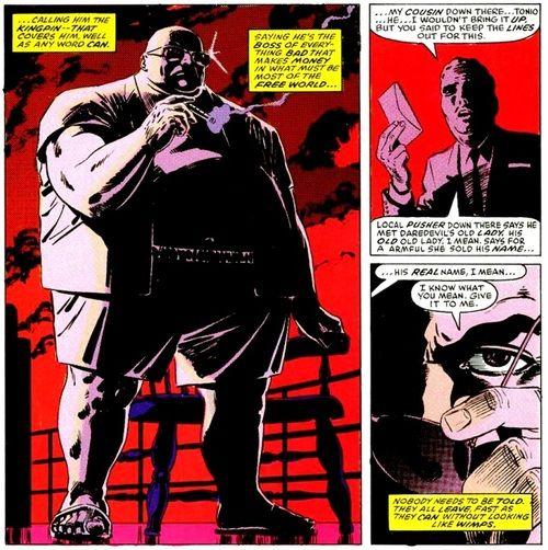 Kingpin, Daredevil: Born Again by Frank Miller & David Mazzucchelli