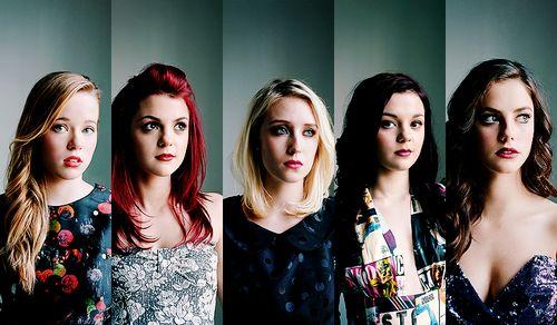 Pandora, Emily, Naomi, Katie, and Effy.  second generation was my favorite