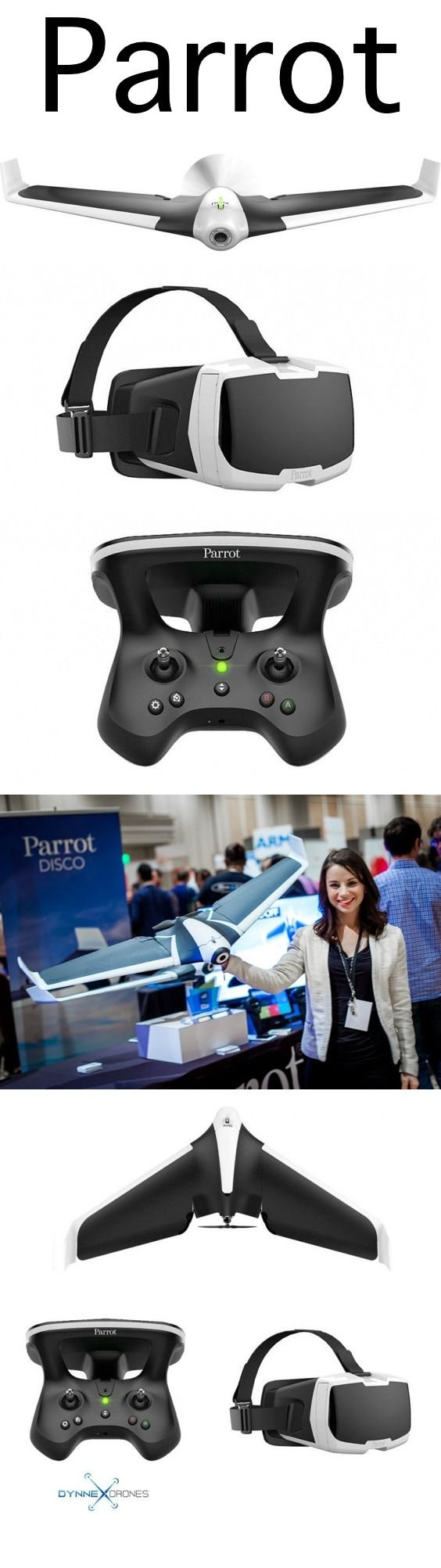 This Parrot Disco is super fun to fly and easy for any level flyer! Drones are AWESOME! Put your Parrot Disco into flight today! Start taking epic footage with your new Parrot Disco. We make it easy with BUY NOW PAY LATER finance option as low as 25$ per month. Now what are you waiting for. https://www.dynnexdrones.com/