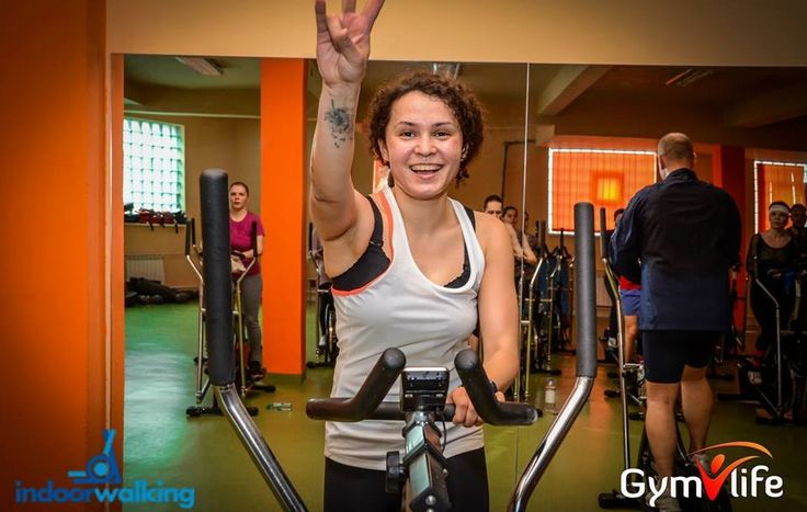 Marieta instructor indoorwalking la Gym Life Club
