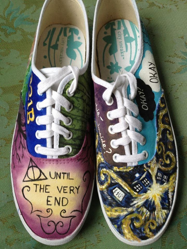 ultimate nerd shoes. want!