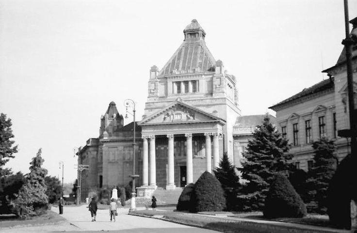 Arad - Palatul de Cultura - 1944