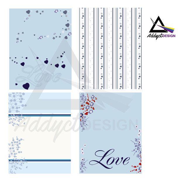 Un favorito personal de mi tienda Etsy https://www.etsy.com/mx/listing/497193390/scrapbook-papel-chicas-flores-azules