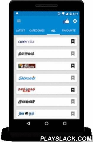 Tamil News HD - தேர்தல் 2016  Android App - playslack.com ,  * 2016 தேர்தல் செய்திகள் மற்றும் தொகுதி நிலவரம் !!* Cricket Live Score AsiaCup - T20 & T20 World cup !!* Breaking news, latest news stories and in-depth analysis of all Tamil newspapers in and around world.*** Features in Tamil news ***1. Favourite any Newspaper.2. Upto date news section.3. Colourful Categories(Election 2016, Cricket Score, Latest, Tamilnadu, Cricket, Sports, Business, Technology, World & LifeStyle) of…
