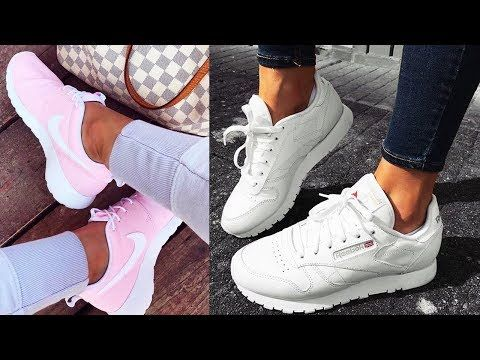 competitive price ff33c c8b26 Zapatillas de Moda 2019 - Adidas, Gucci   Nike. Tenis 2019 para Mujer -  YouTube