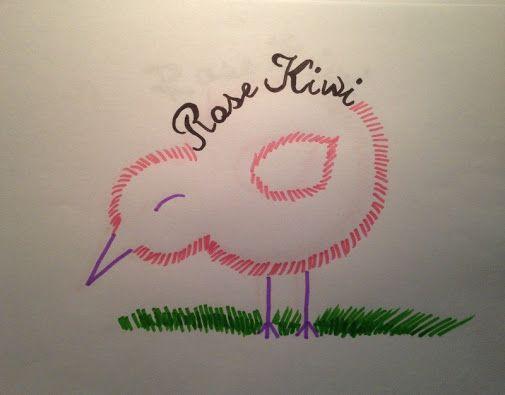 #BlaBla // Marion Blue, (info)graphiste, a réalisé le logo de Rose Kiwi