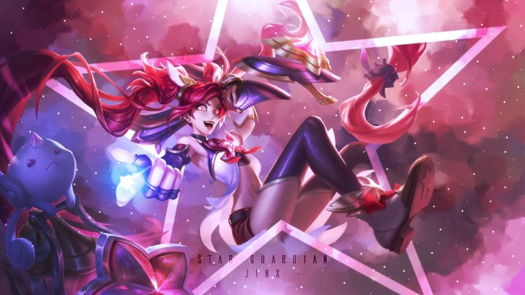 'Star Guardian Jinx' by SlothSenpai