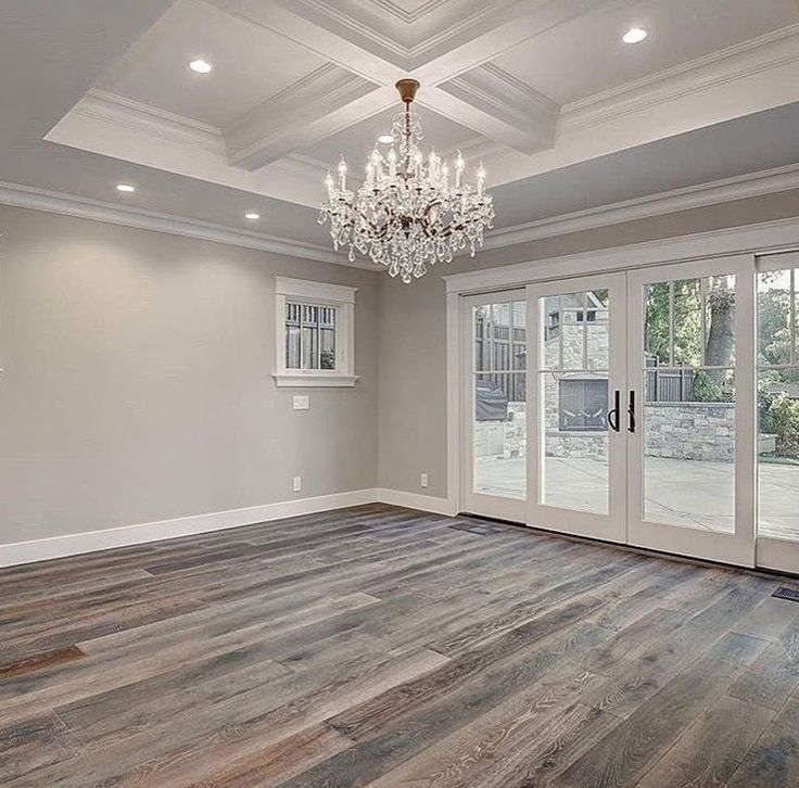 Obsessed With Gray Wood Flooring Home House Interior House Design