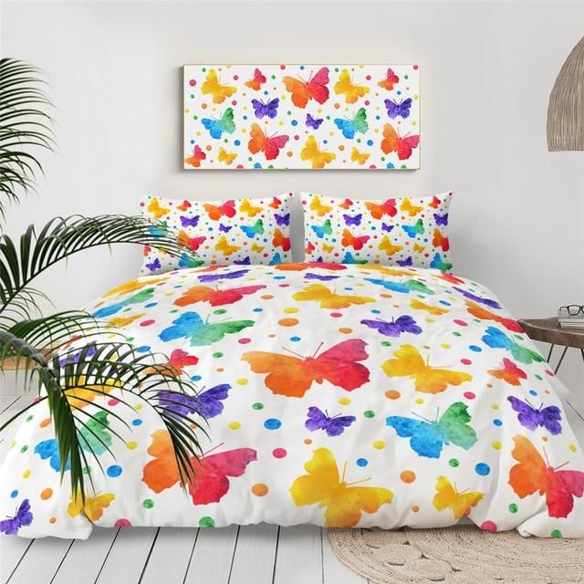 Pin On Butterfly Bedding Set