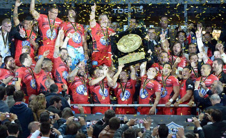 Rugby : Toulon sacré champion de France après sa victoire sur Castres (18-10)