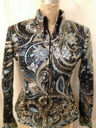 Lace western show jacket