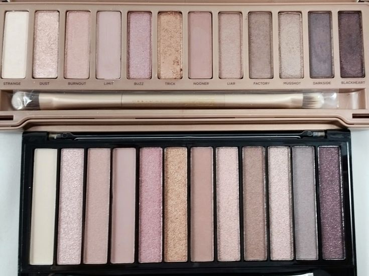 Revolution Makeup Iconic 3 Palette Swatches- Naked 3 Dupe