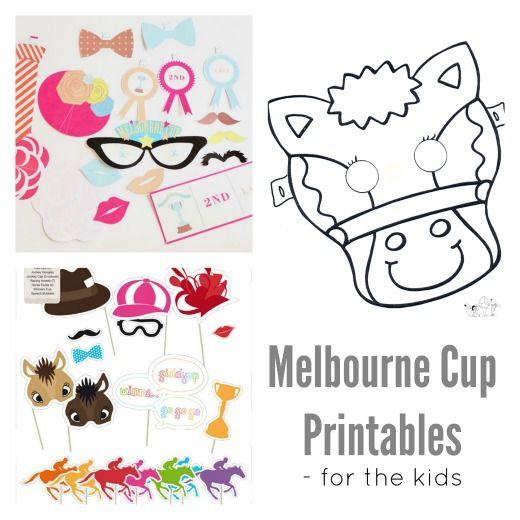 Handmade Kids | Melbourne Cup Printables | http://www.handmadekids.com.au