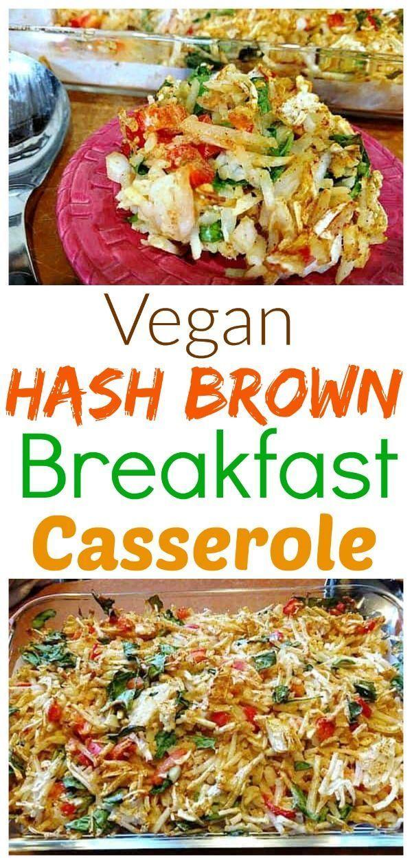 Vegan Hash Brown Casserole Recipe In 2020 Hashbrown Casserole Recipe Vegan Casserole Recipes Vegan Breakfast Casserole