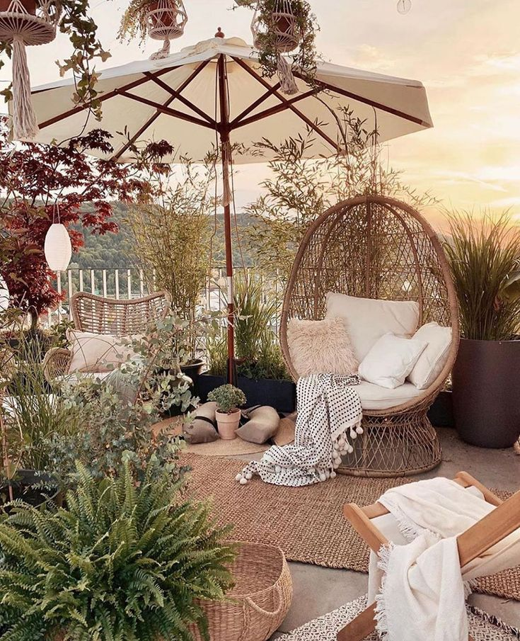 Incredible Dreamy Bohemian Garden Design Thoughts