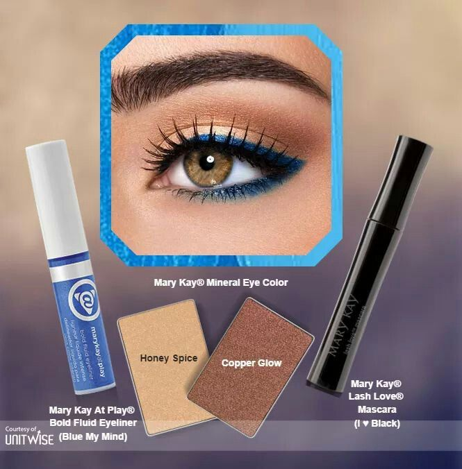 Let me help you achieve any look for your eye color! Only By MARY KAY :)  Like my facebook page for encouraging words, beauty tips, and any exclusive deals/offers http://www.facebook.com/MaryKayByPeggyWebster