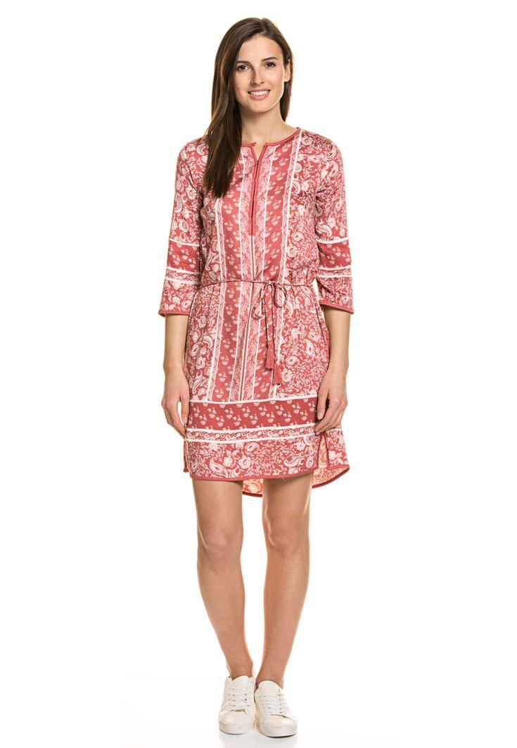 TOM Tailor Kleid, 3/4-Arm, Rundhals rot Jetzt bestellen unter: https://mode.ladendirekt.de/damen/bekleidung/kleider/sonstige-kleider/?uid=12031a68-f0ff-5d62-8a87-fc445406eb83&utm_source=pinterest&utm_medium=pin&utm_campaign=boards #sonstigekleider #kleider #bekleidung Bild Quelle: brands4friends.de