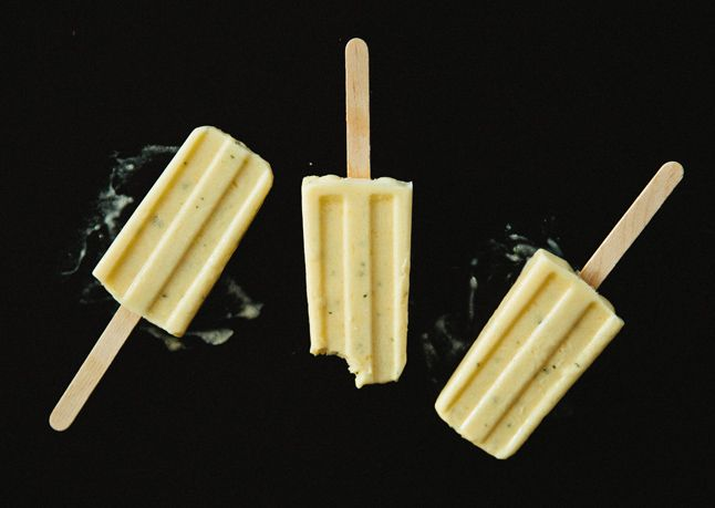 Spicy Mango Ice Pops Recipe — Dishmaps