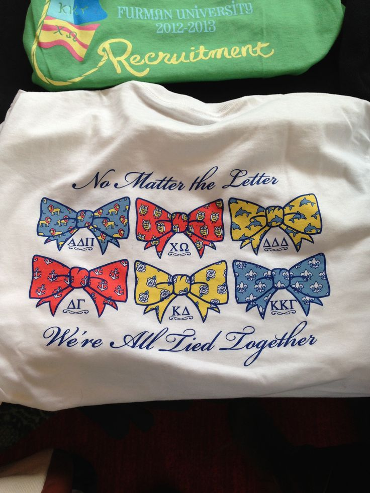 Panhellenic Recruitment Shirt These Shirts Are From My
