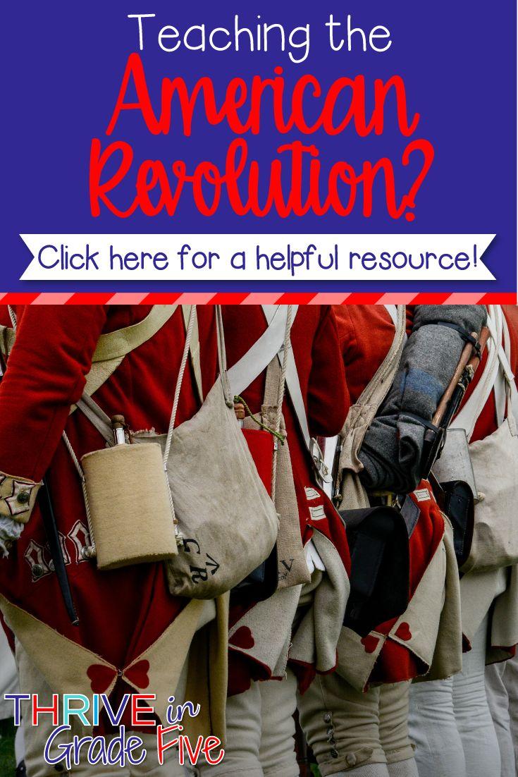 American revolution unit american revolution unit