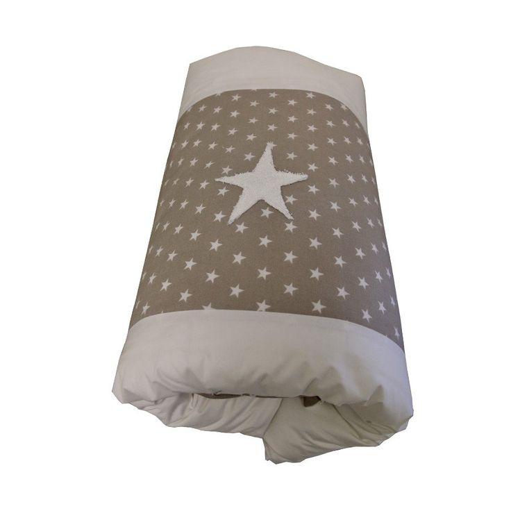 Stone Stars - Cot Duvet Cover