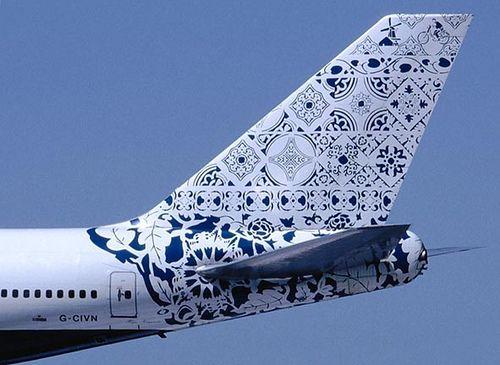 Dat wordt nog eens de private jet van Dutch Portfolio ;-) | Delftblue Daybreak 1998 by Hugo Kaagman