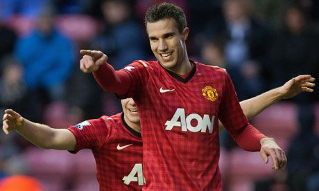"Robin van Persie has hailed Manchester United as ""a special team"" after his two goals helped them to a 4-0 win at Wigan Athletic.    Van Persie took his overall tally to 19 as United stayed seven points clear of their nearest rivals, Manchester City, with his first goal described as ""absolutely magnificent"" by Sir Alex Ferguson."