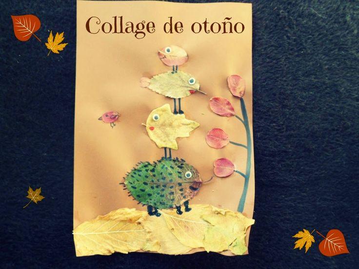 LLUVIA DE IDEAS: Materiales DIY: Manualidades infantiles para otoño con hojas secas