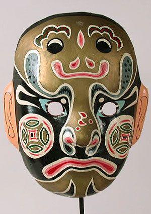 Traditional Chinese Opera Mask | Masks - Venezian and ...