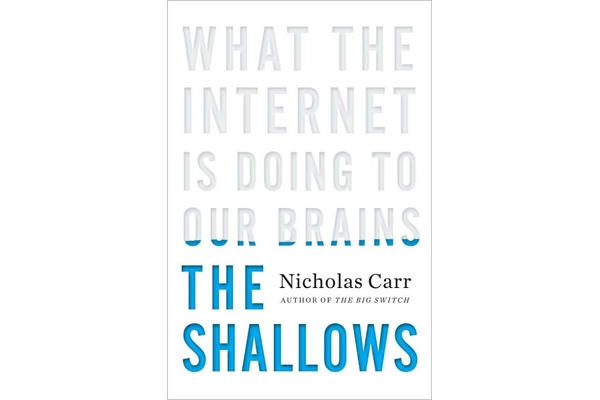 nicholas carr the shallows - Google Search