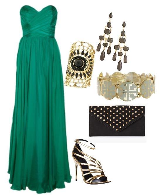 Jade, vestido de noche.