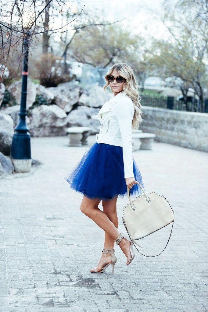 electric TULLE SKIRT