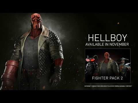 Injustice 2 Trailer Shows Hellboy Gameplay – Buzzx