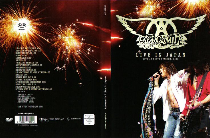 Full DVD en Concierto Aerosmith Live In Japan 2002