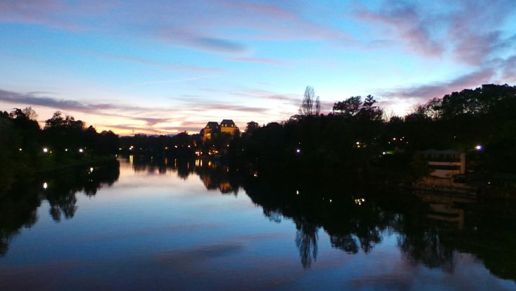 River Po & Parco del Valentino, Turin (Italy)