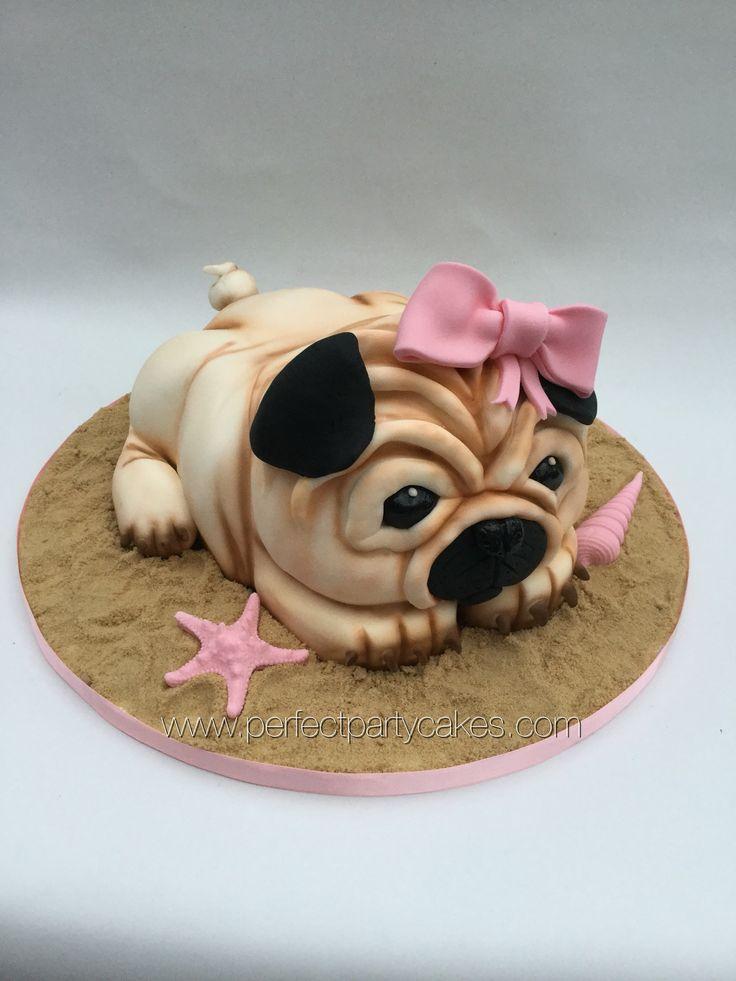 Dog Edible Birthday Cake