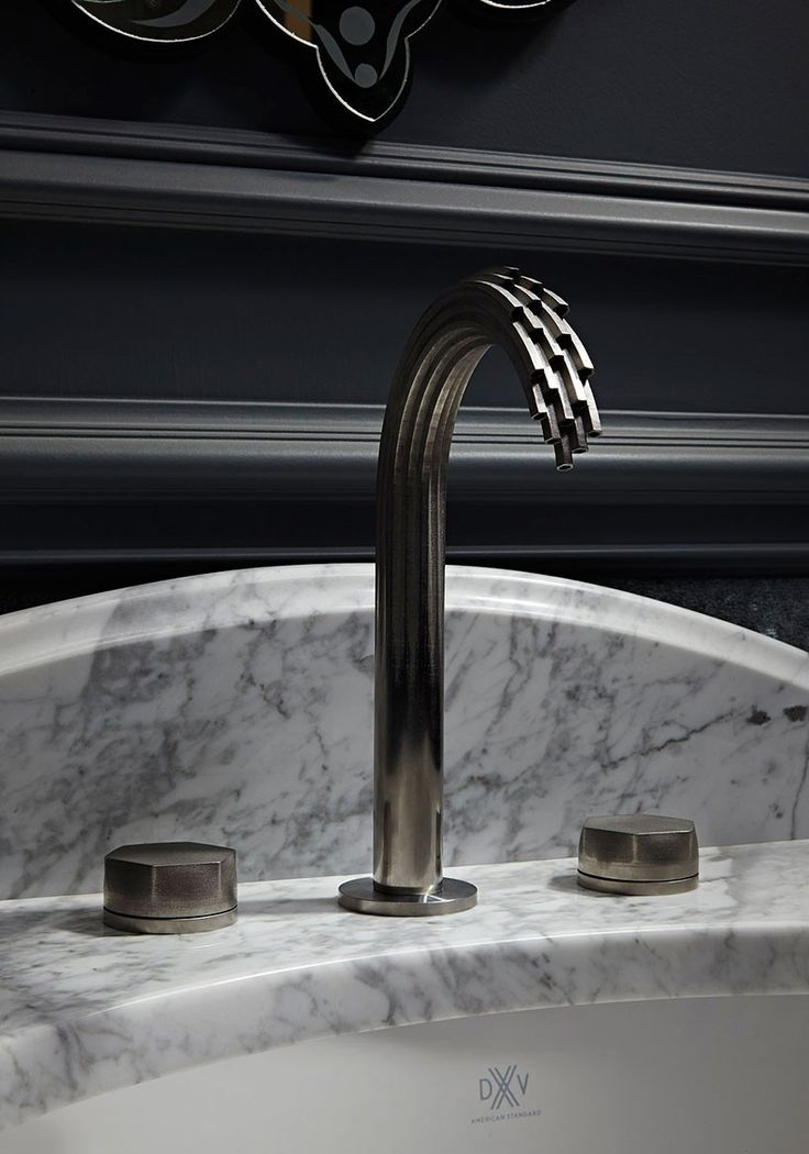 american standard splashes out 'DXV' line of 3D printed metal faucets
