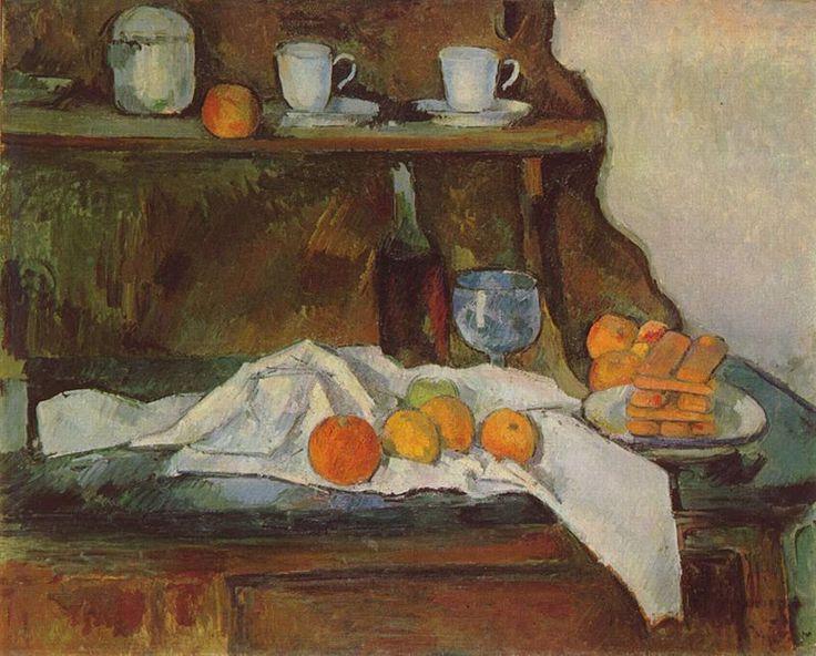 Paul Cézanne - Il buffett, 1873