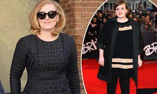 Adele hits back at questions over her weight after revealing MUCH slimmer figure | Daily Mail Online