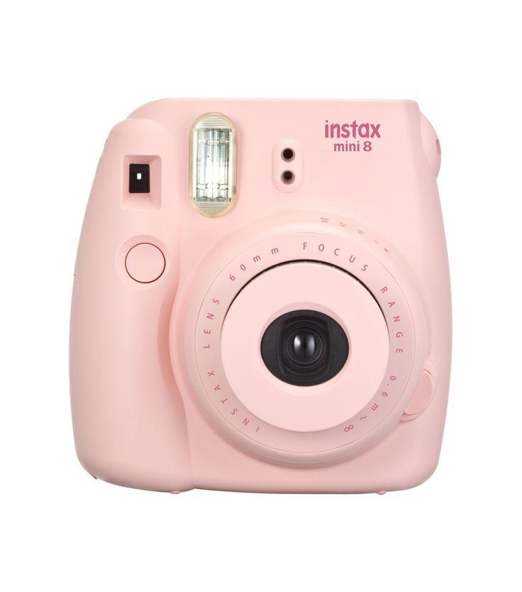 De zacht roze instax mini is nu verkrijgbaar op HEMA.nl