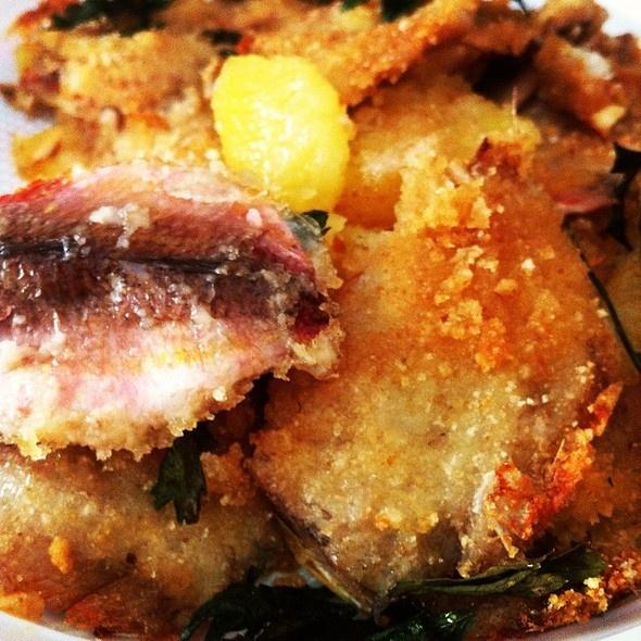 Tortino di triglie e patate