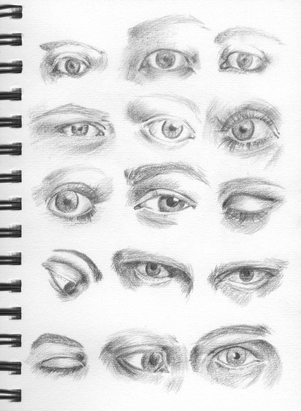 do and donts how to draw an realistic eye